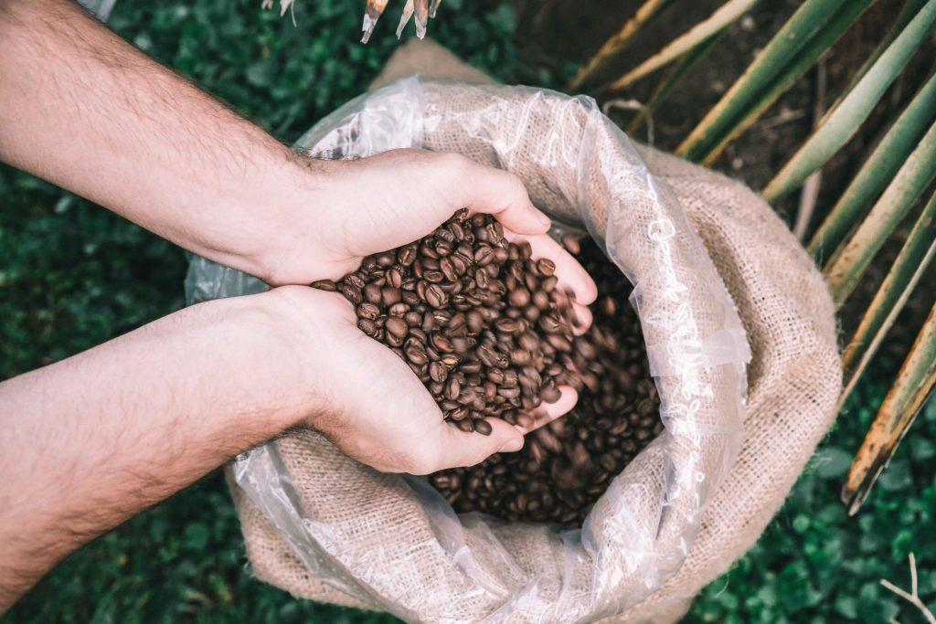Saco de café de especialidad
