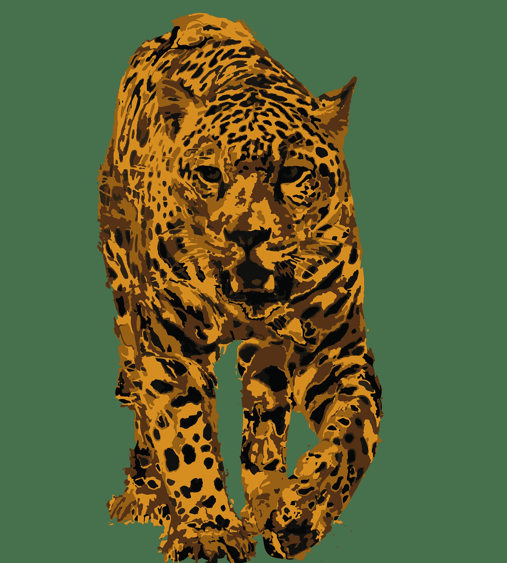 Jaguar autóctono, representando café de especialidad