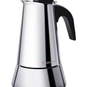 Cafetera italiana metálica Godmorn