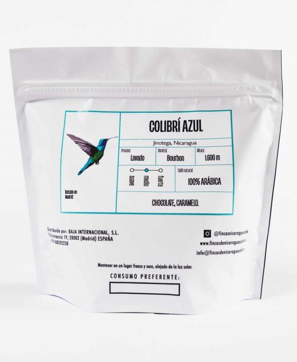 Paquete colibrí azul de 250g