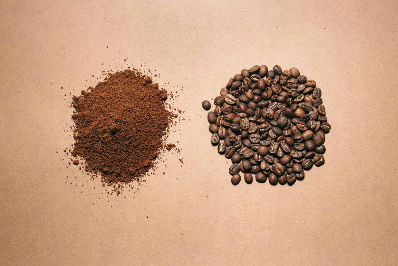 Café en grano y en molienda fina